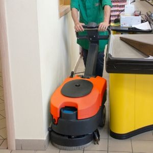 CTM Flick Walk Behind Scrubber Dryer