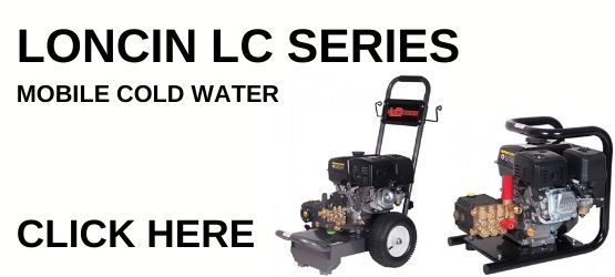 Loncin Pressure Washer Landing Page Button
