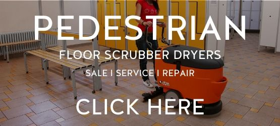 Industrial Pedestrian Floor Scrubber Dryers