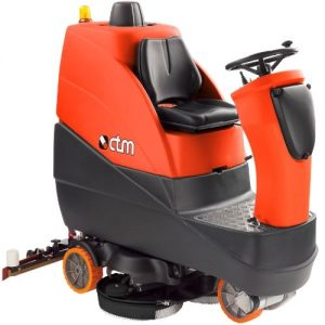 CTM KRON S3 EV Rideo on Scrubber Dryer