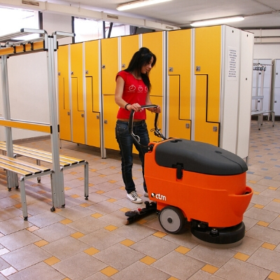 CTM Alcor Walk Behind Floor Scrubber Dryer